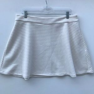 Banana Republic Quilted Mini Circle Skirt #1088